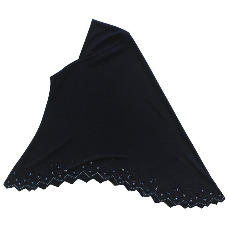 Muslim Girls Amira Hijab Scarf Islamic Headscarf Long Shawls Hand-made for 7 to 12 years old Girls