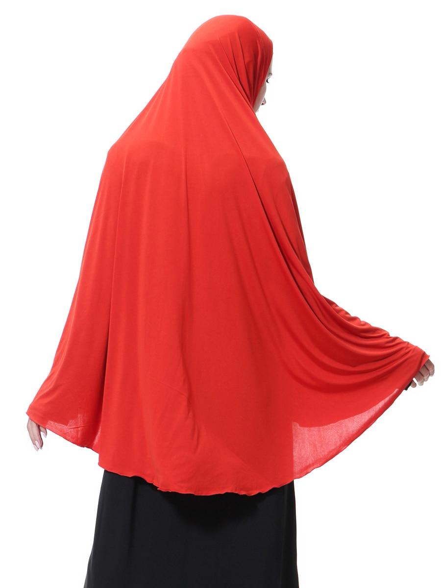 Women Prayer Clothing Black Arabian Long Muslim Hijab Hat Islamic Inner Cap Wrap Headwear Coverings Malaysia Hijab Headscarf