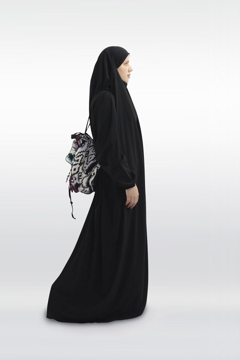 One Piece Prayer Outfit Muslim Women Abaya