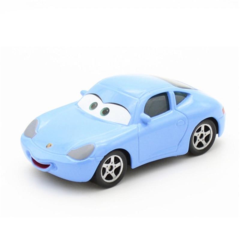 Disney Pixar Cars 2 3 Lightning McQueen Mater 1:55 Diecast Metal Model Car Birthday Gift Educational Toys For Children Boys