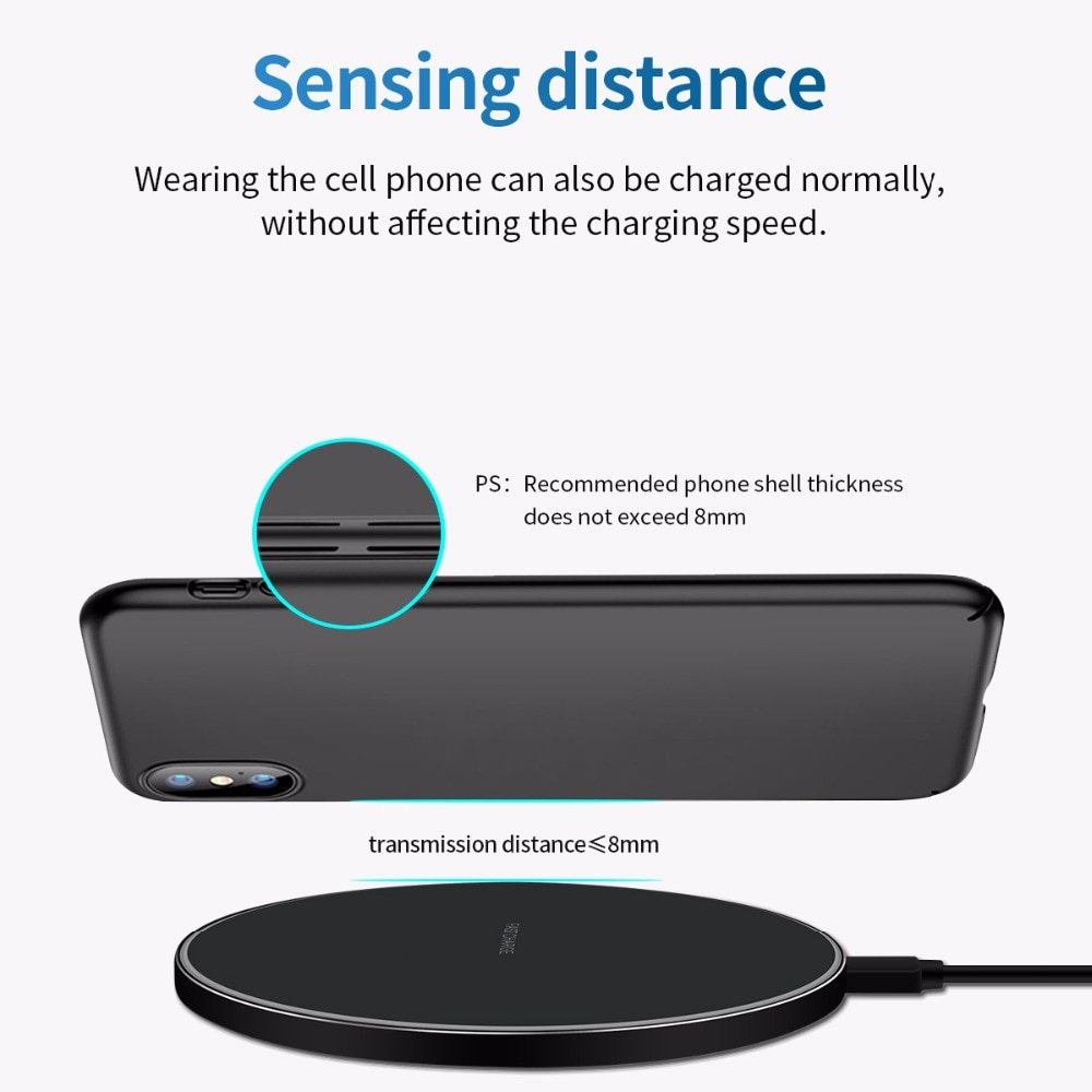 20W qi Wireless Charger for iPhone 11 12 X XR XS Max 8 fast wirless Charging for Samsung Xiaomi Huawei phone Qi charger wireless