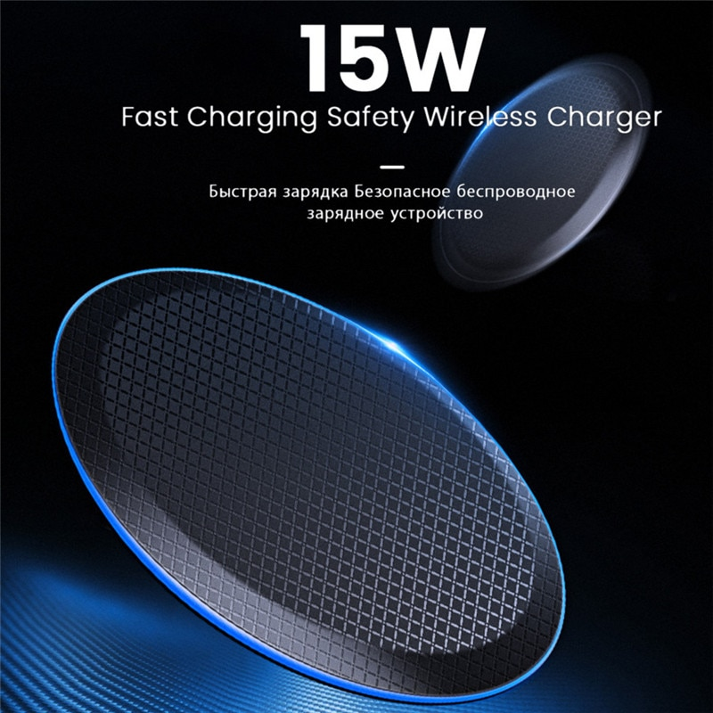 30W Qi Wireless Charger for iPhone 11 12 X XR XS Max 8 USB Fast Wirless Charging for Samsung Xiaomi Huawei Phone charger wireles