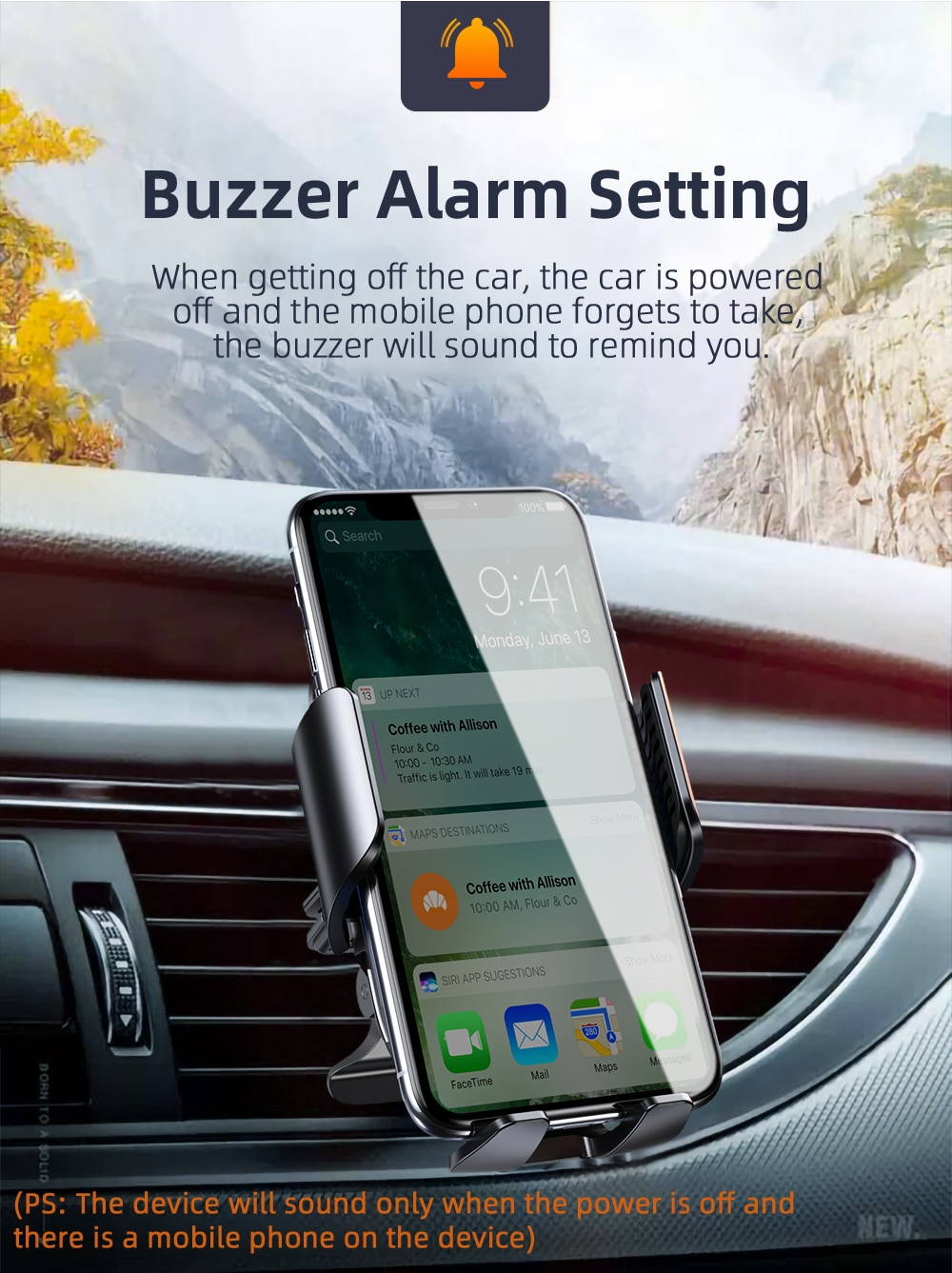 Essager 15W Qi Car Wireless Charger For iPhone 12 Mini Pro Max Car Air Vent Mount Fast Wirless Charging Sucker Phone Holder