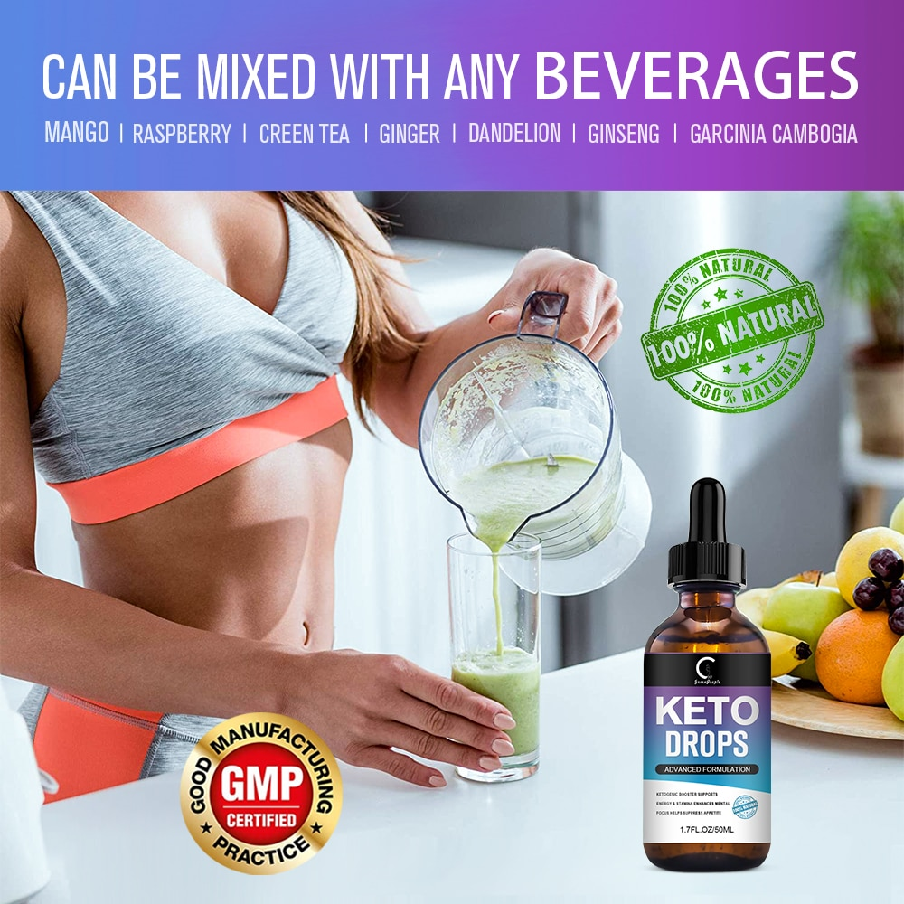 GP Greenpeople Ketogenic Slimming Oil Burning Fat Replenish Energy Consume Fat New Way Ketogenic Weight Loss Oil