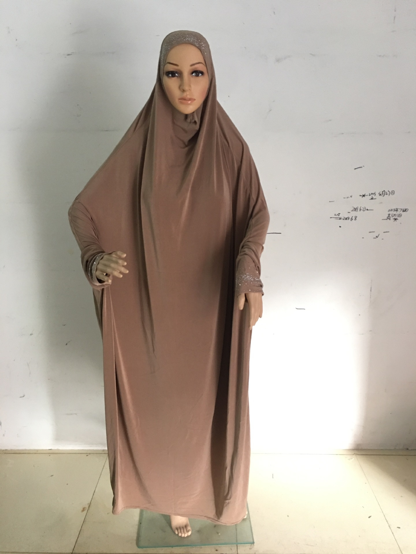 SALE free size rhinestones skirt clothes big size hijab Khimmar Long Khimars with sleeves