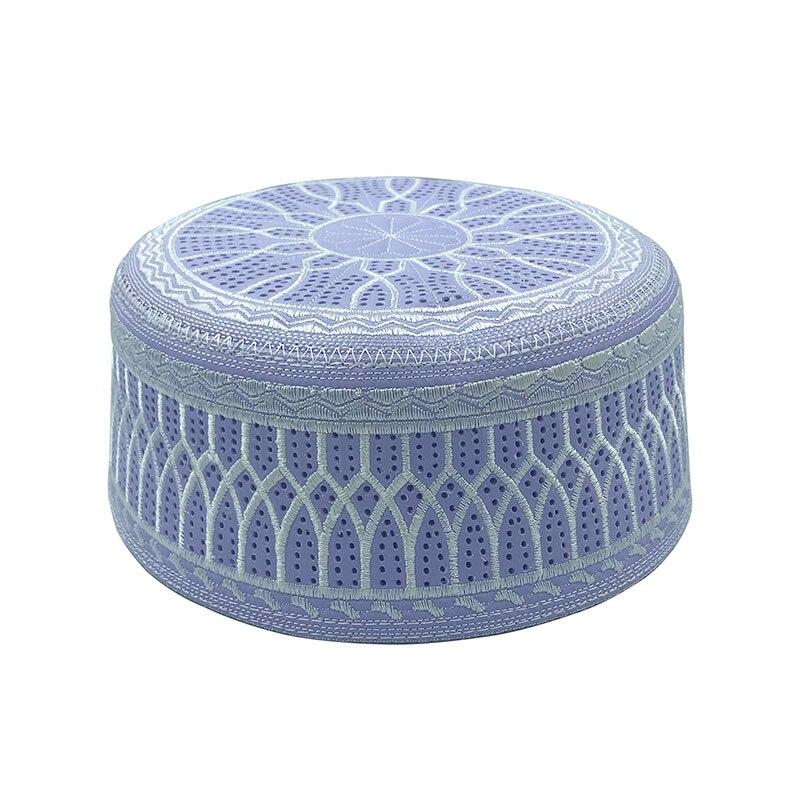 Islamic Hat Men Prayer Hats Fashionable Saudi Arabia Head Wear Muslim Caps Headscarf Clothing Topkippot Turban Jewish Yarmulke
