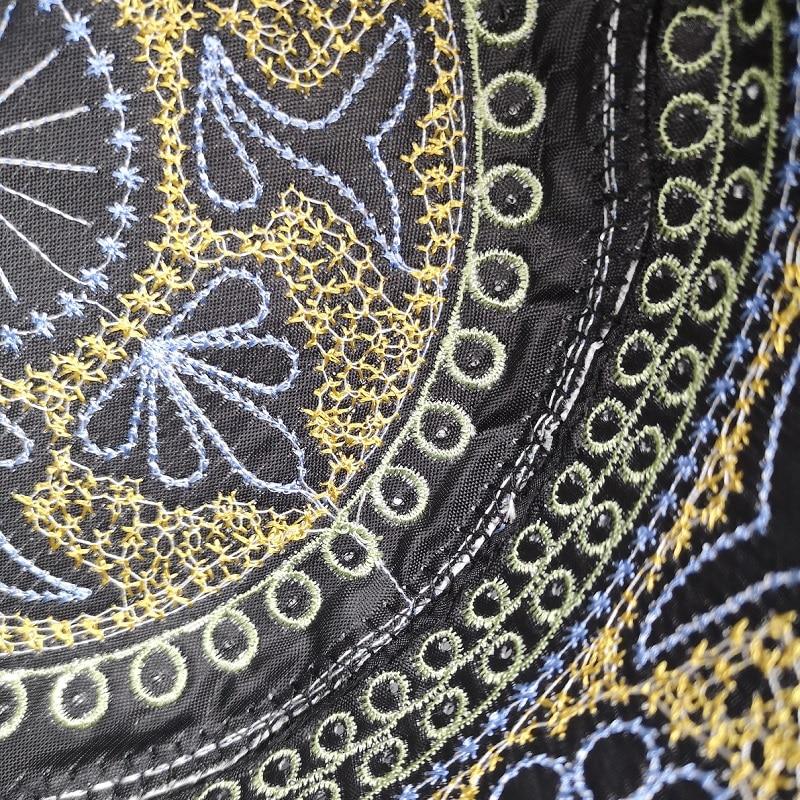 New black muslim hats for men Prayer Beanie Turkish Arabic Hats Knitted Islamic Caps Headscarf Clothing Crochet Islamic Fashion