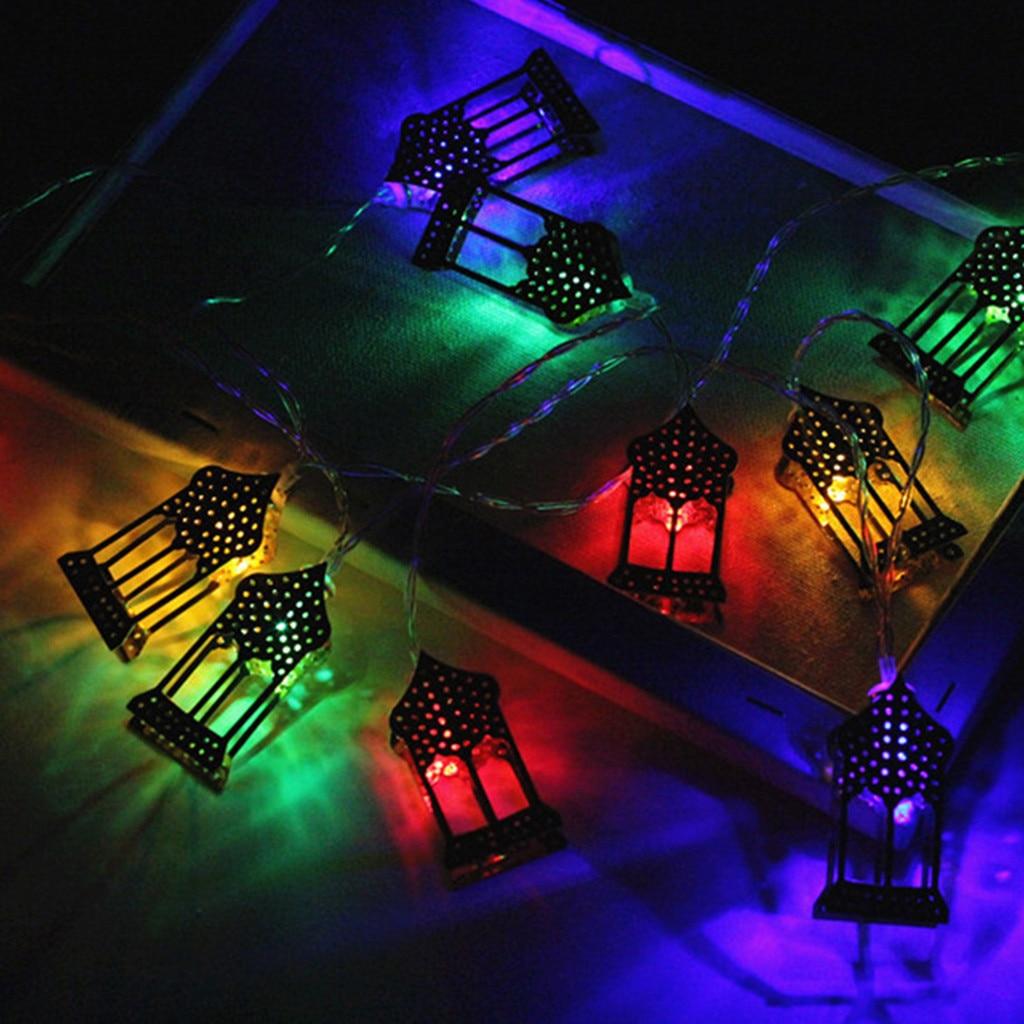 Ramadan And Eid Decor Lights Led String Lights Home Festival Party Festival Favor Nice Ramadan Decoration Transparent Cables