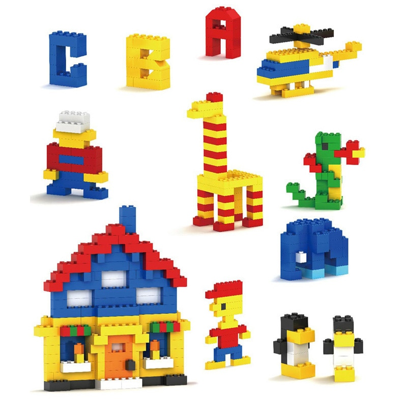 Building Blocks City DIY Creative Bricks Bulk Model   Kids Assemble Toys Compatible All Brand Small Size