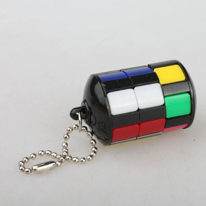 1 PC Magic Cube Puzzle Educational Kids Toys for Children Smart Tower with Keychain Jigsaw Puzzles Anti-stress Funny Games Toys