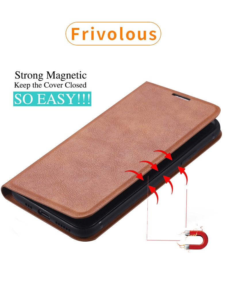 Luxury Flip Magnetic Leather Wallet Case for iPhone 12 Mini 11 Pro XS Max XR X 7 8 6 6s Plus SE 2020 Holder Stand Phone Cover