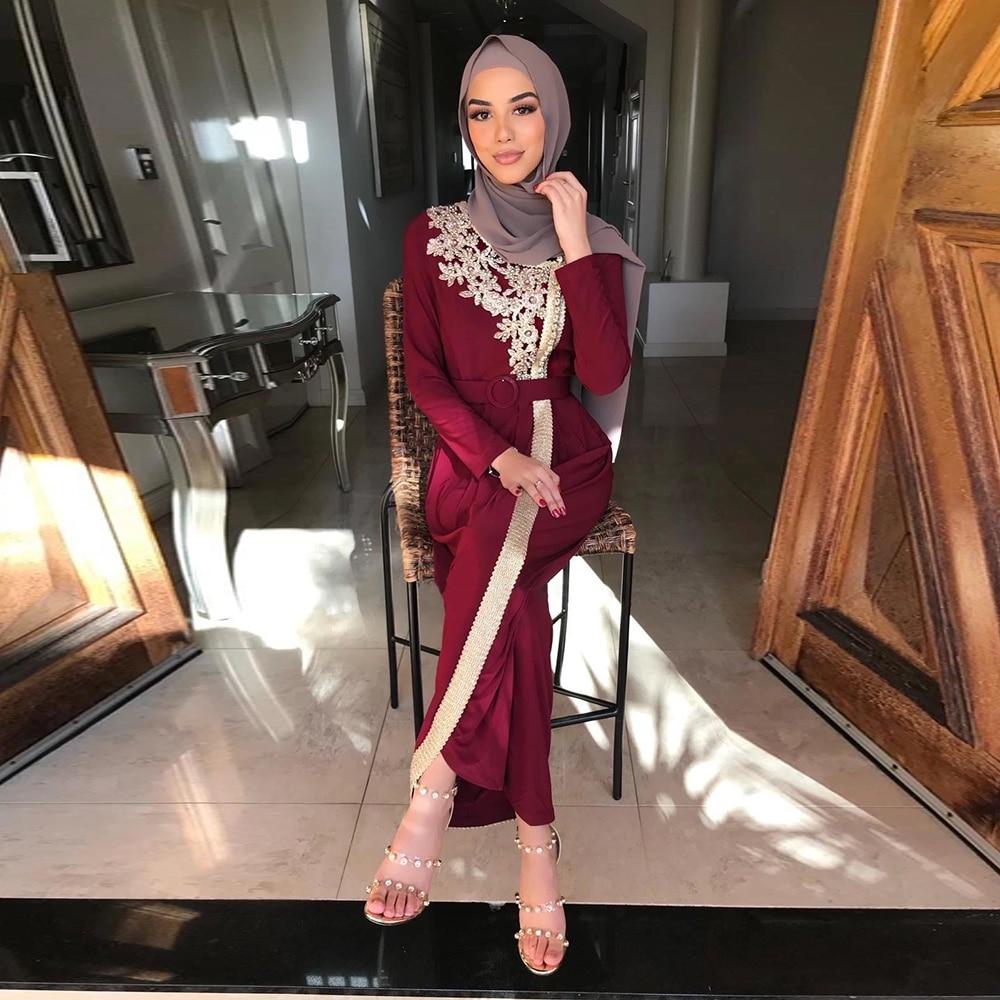 Robe Turkey Style Muslim Fashion Dress