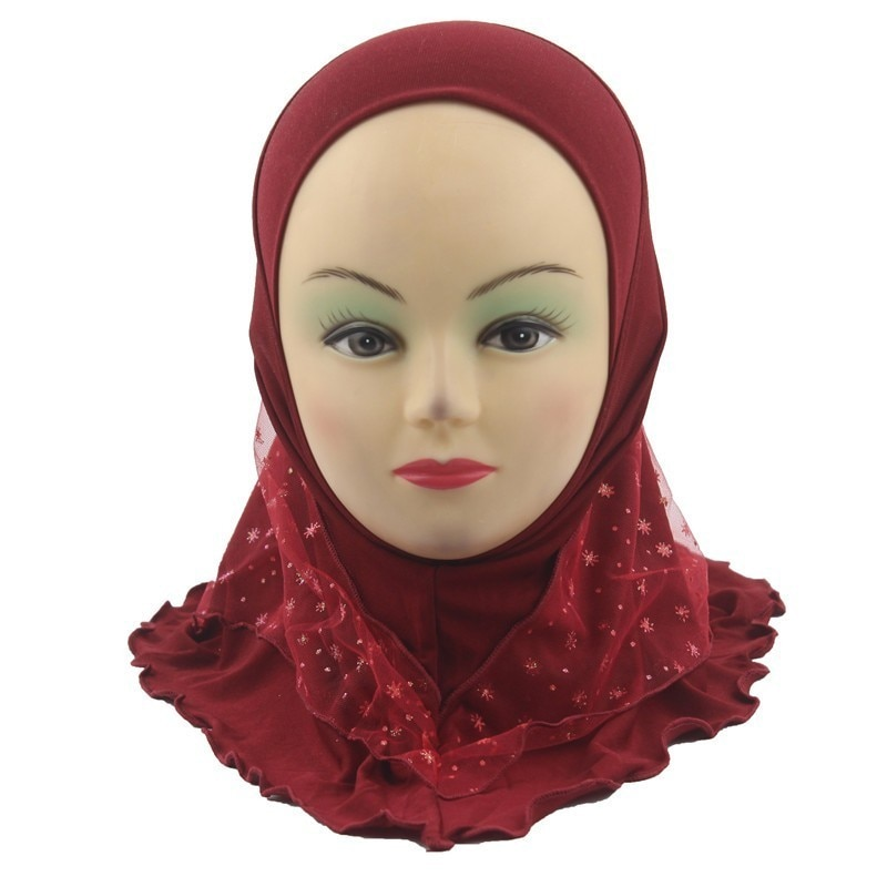 Kids Hijab Islamic Scarf  for 2 to 7 years old Girls Wholesale